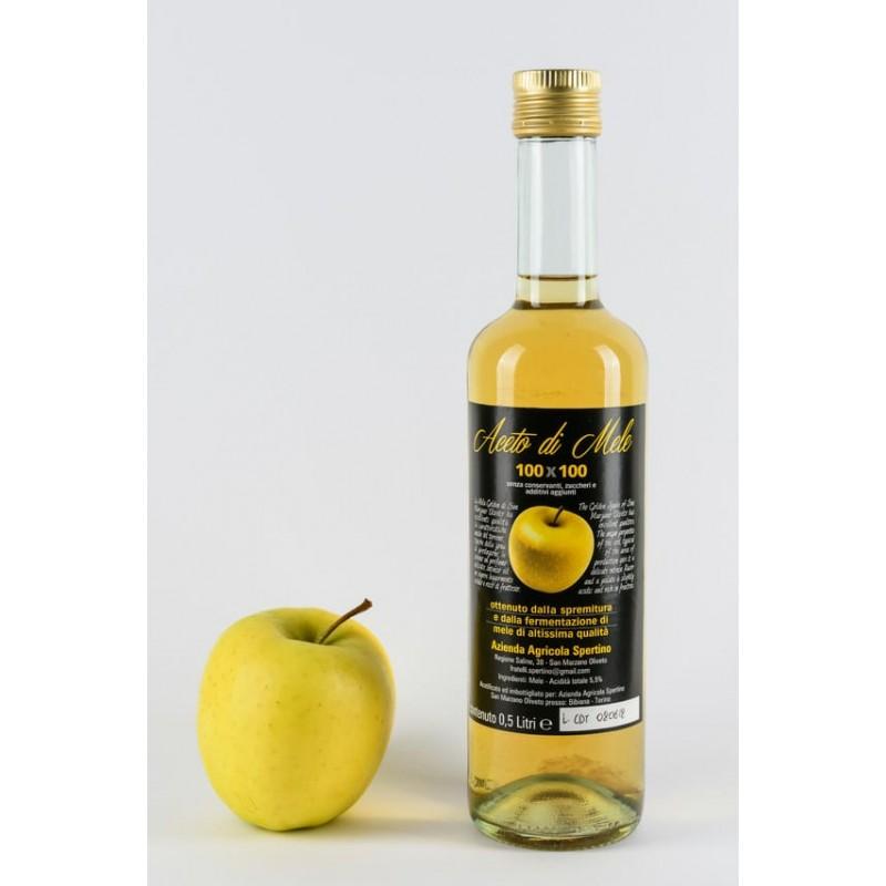 Aceto di mela in bottiglia da lt. 0,500
