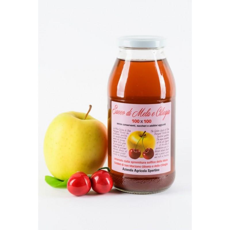 Bottiglie mela -ciliegia  da lt. 0,500