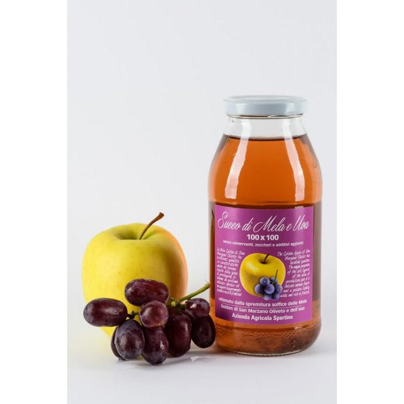 Bottiglie mela-uva da lt.0,500